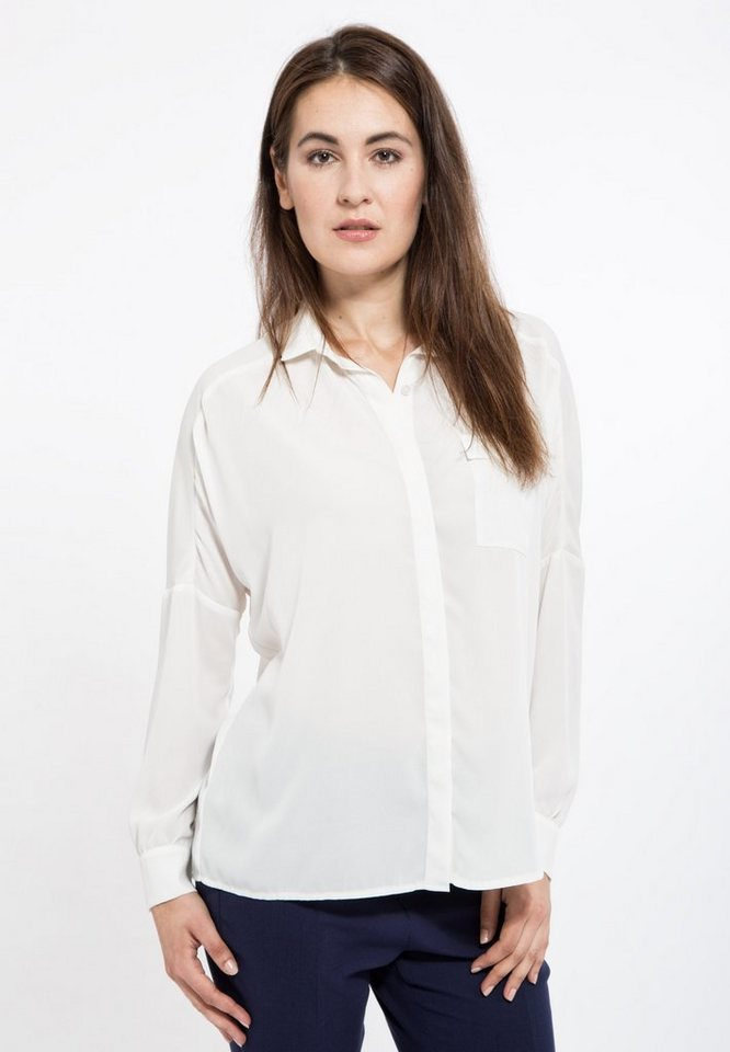 Mexx Chiffonbluse in offwhite