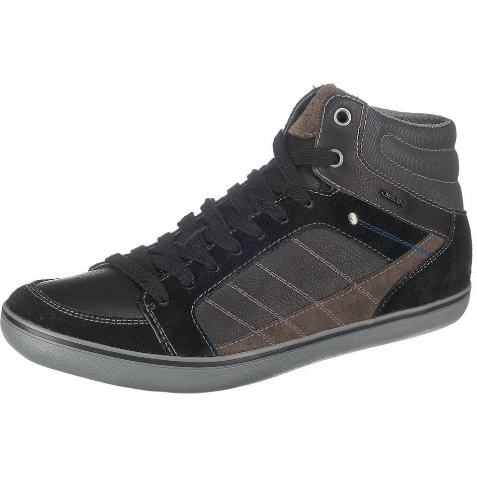 GEOX Box Sneakers in schwarz
