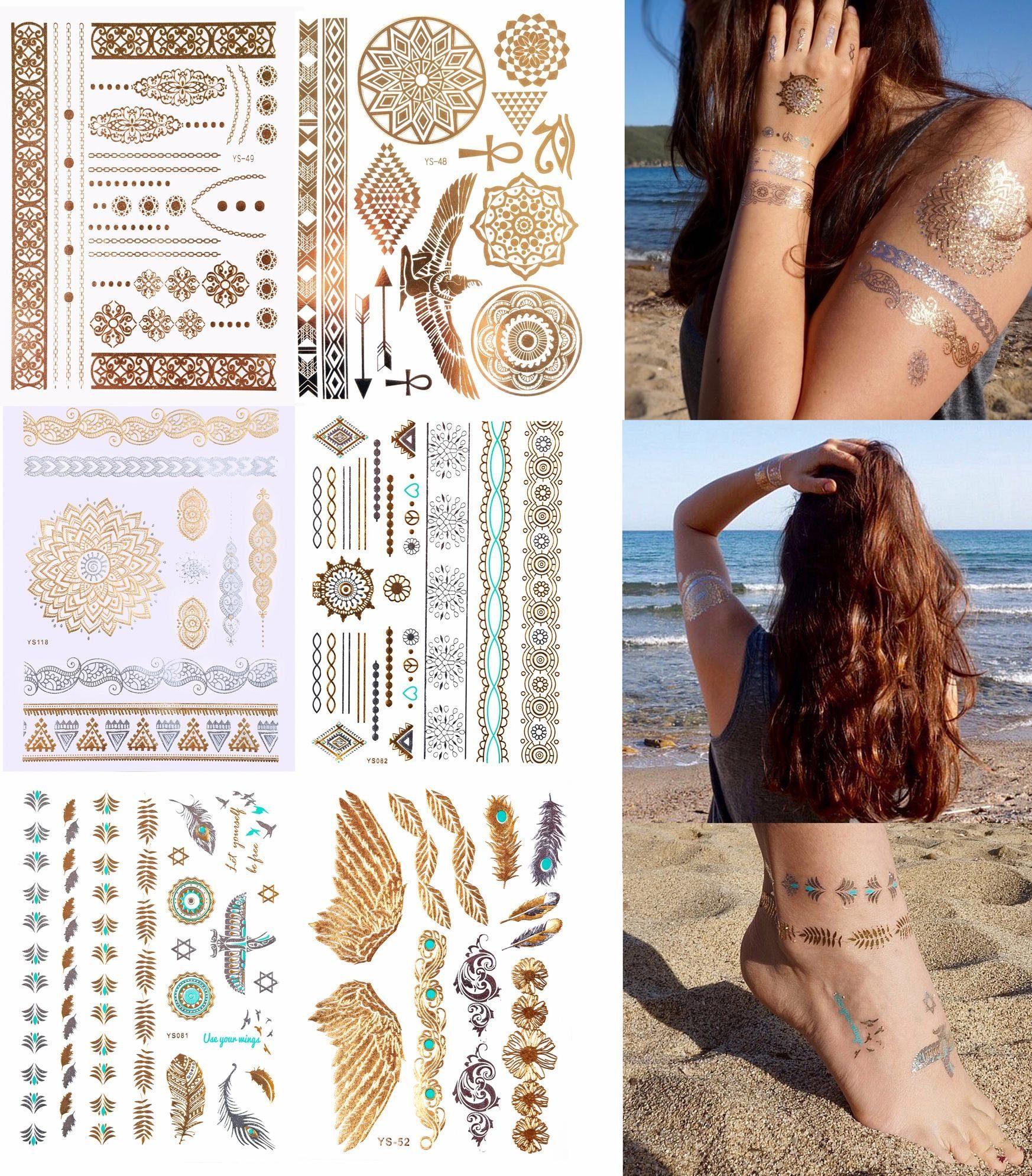 Schmuck-Tattoos, »Holiday«, Tattoos zum Aufkleben