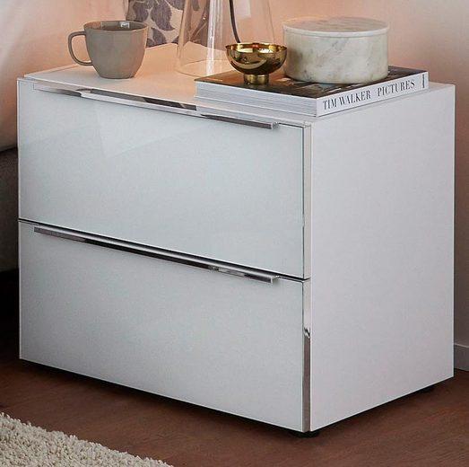 nolte® Möbel Nachtkonsole »Alegro Style«, Glasfronten, Breite 60 cm