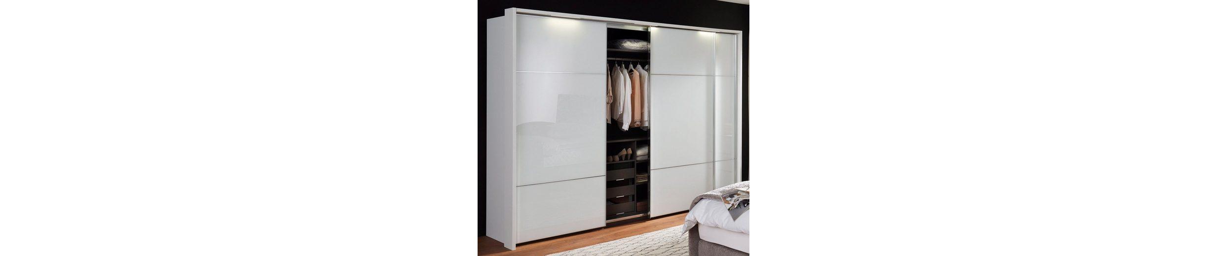 nolte® Möbel Schwebetürenschrank »Marcato«, mit Fronten aus Weißglas