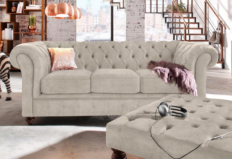 Premium collection by Home affaire 3-Sitzer »Chesterfield«