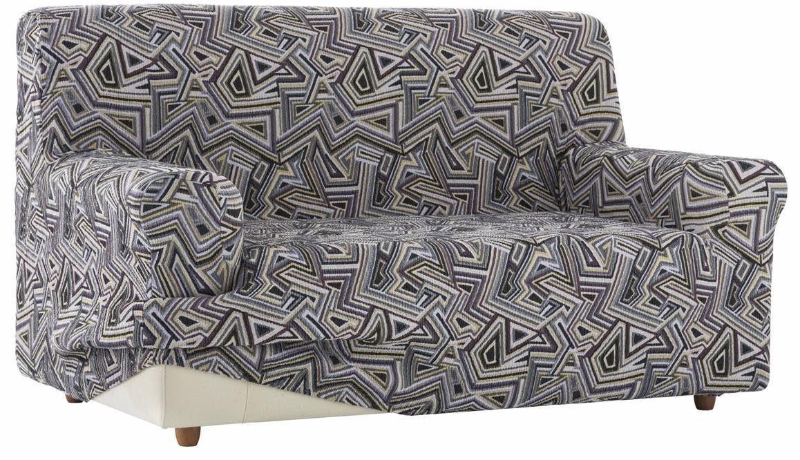 Sofahusse, Zebra, »Babel«, mit grafischem Design