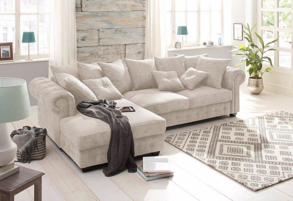 Ecksofa luxus  Home affaire Ecksofa »San Pedro« online kaufen | OTTO