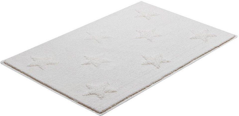 Badematte, GRUND, »Starlets«, Höhe 24 mm, rutschhemmender Rücken in sahne