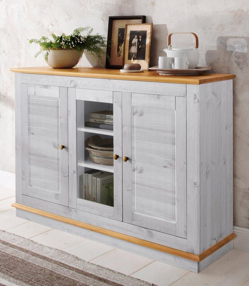 Elegant Sideboard Grau Weiß Dekoration Von Lieferbar