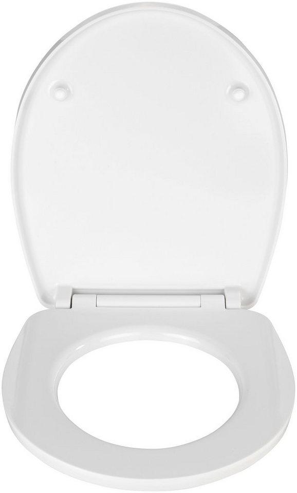 WC-Sitz »Buntstifte«, Mit Absenkautomatik in bunt/weiß
