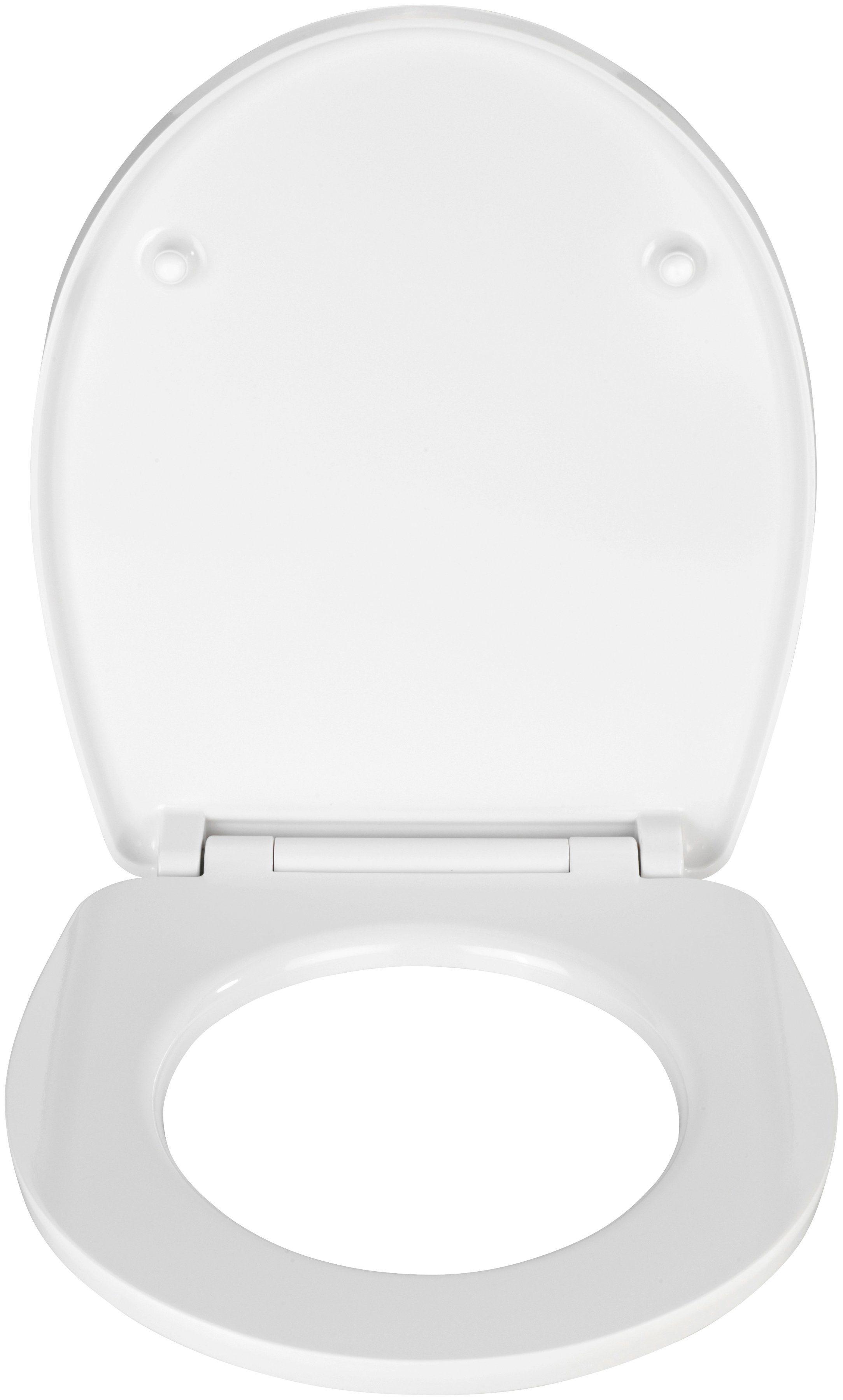WC-Sitz »Buntstifte«, Mit Absenkautomatik