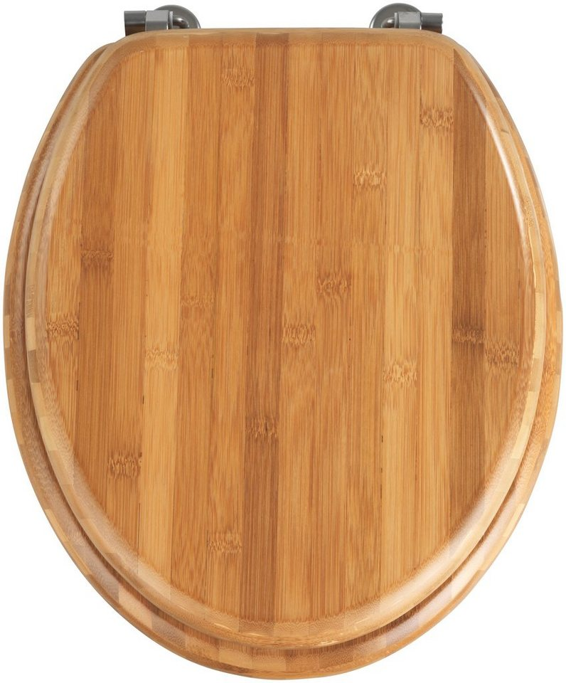 WC-Sitz »Bambus« in dunkelbraun
