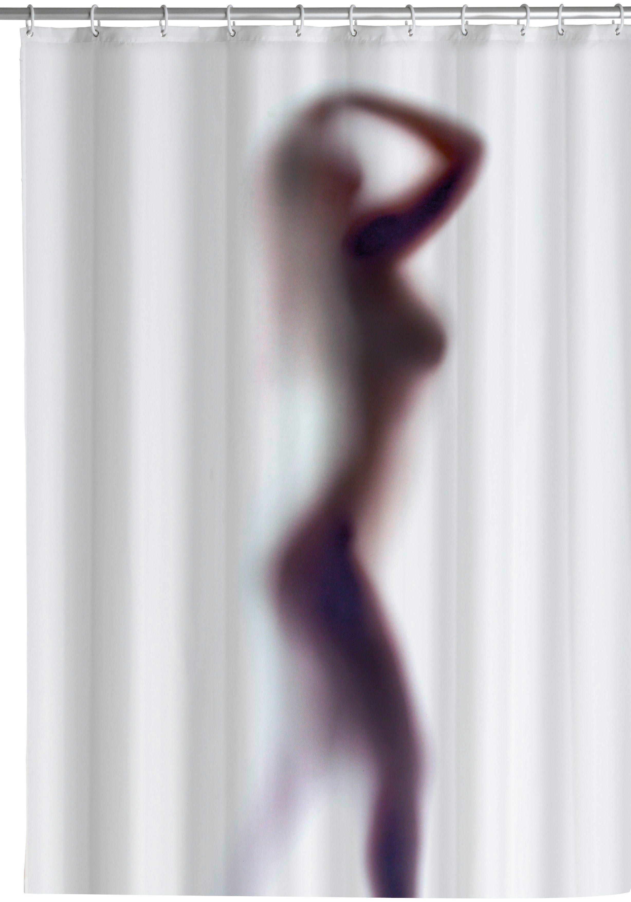 WENKO Duschvorhang »Silhouette«, Breite 180 cm