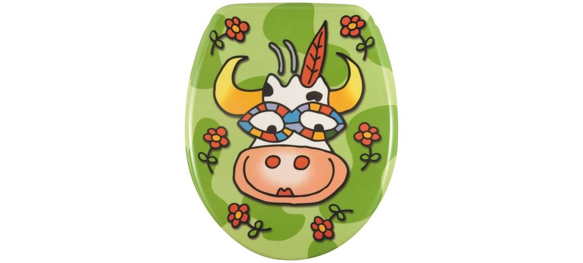 WC-Sitz »Crazy Cow«