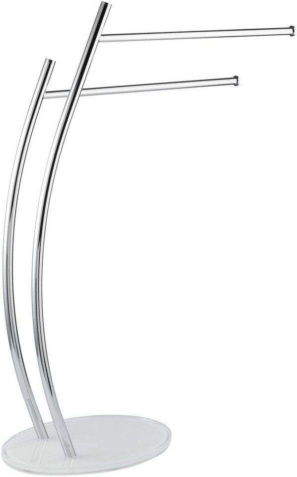 Handtuchständer »Ascea« in chrom/weiß