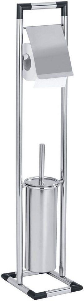 WC-Garnitur »Lonigo« in glänzend/schwarz