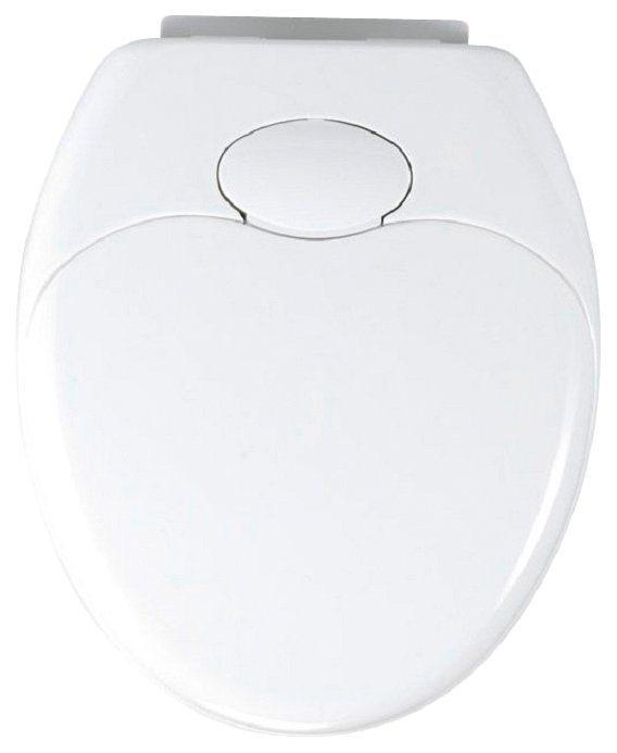 WC-Sitz »Family«, Mit Absenkautomatik in weiß