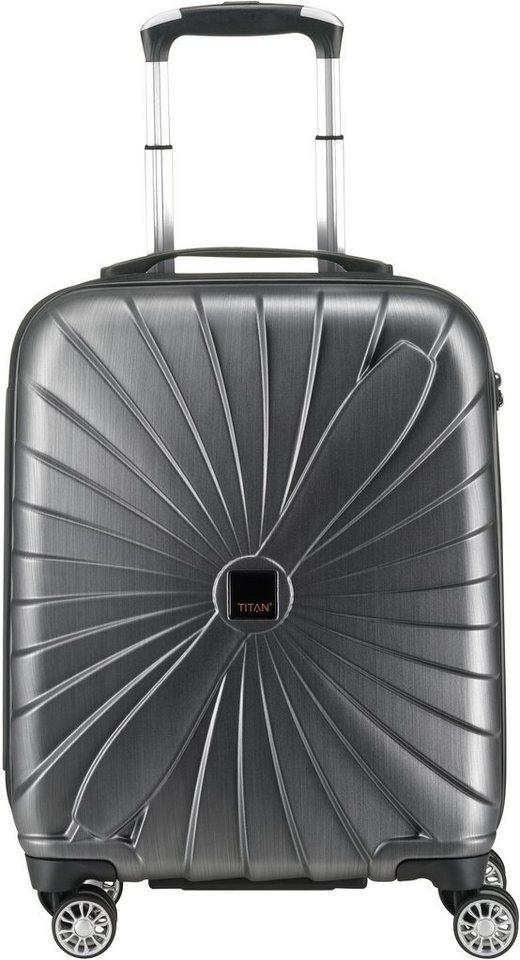 titan hartschalen trolley mit 4 rollen triport otto. Black Bedroom Furniture Sets. Home Design Ideas