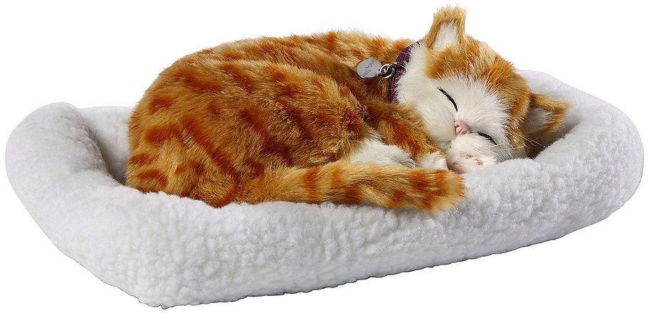 Plüschtier mit Funktion, Katze, »Perfect Petzzz® Orange Tabby«