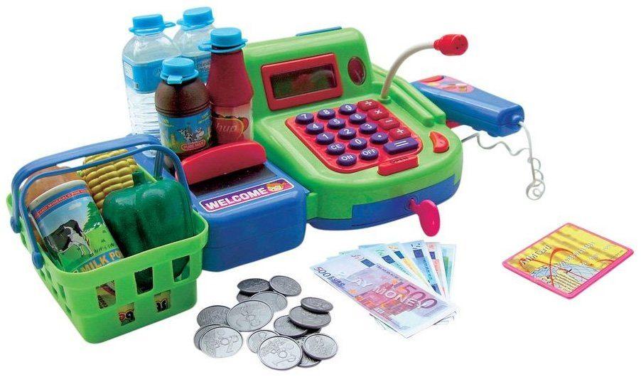 Zubehör für den Kaufladen, »Spielkasse mit Funktion«