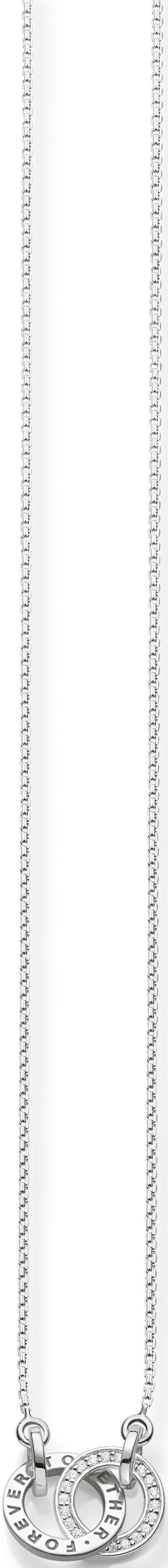 Thomas Sabo Silberkette »KE1488-051-14-L45v«, mit Zirkonia