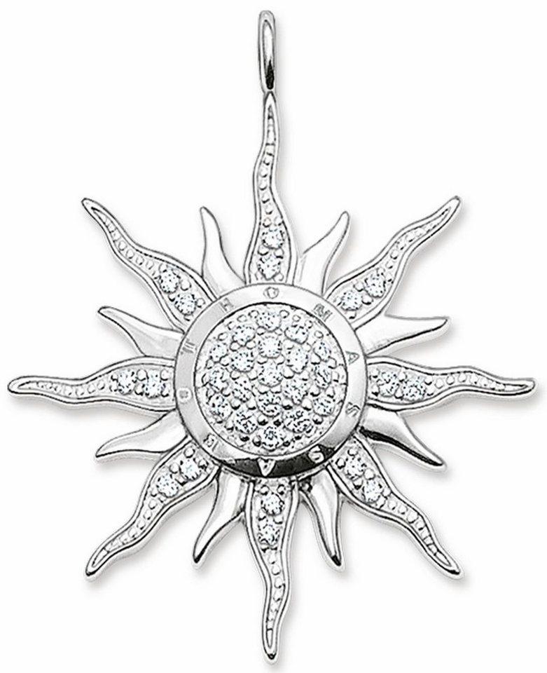 Thomas Sabo Sonnenanhänger »Anhänger, PE450-051-14« mit Zirkonia in Silber 925