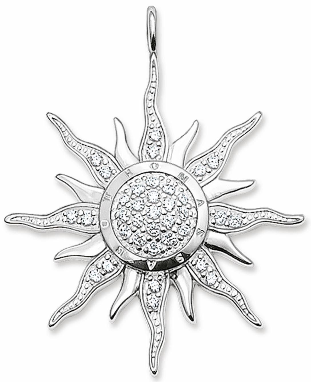 THOMAS SABO Sonnenanhänger »PE450-051-14«, mit Zirkonia