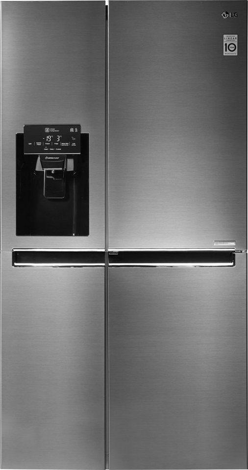 lg side by side gsj760pzuz a 179 cm hoch nofrost online kaufen otto. Black Bedroom Furniture Sets. Home Design Ideas