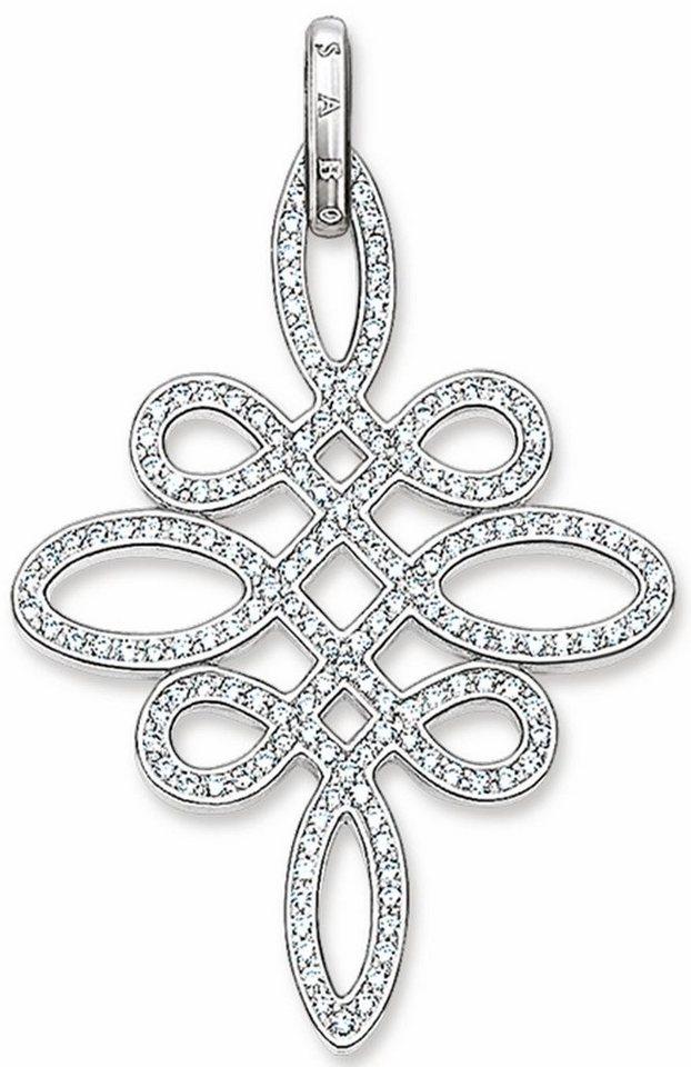 Thomas Sabo Kettenanhänger »Anhänger, PE625-051-14« mit Zirkonia in Silber 925