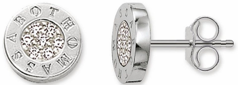 Thomas Sabo Paar Ohrstecker »Paar Ohrstecker, H1547-051-14« mit Zirkonia in Silber 925