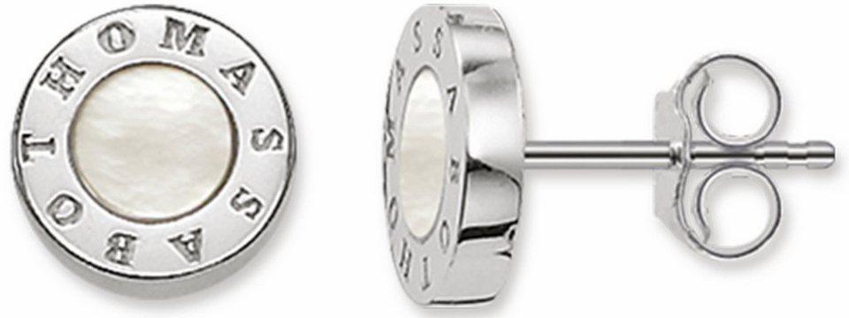 Thomas Sabo Paar Ohrstecker »Paar Ohrstecker, H1859-029-14« mit Perlmutt in Silber 925