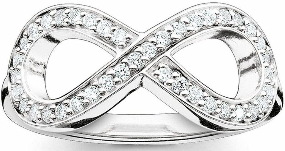 Thomas Sabo Silberring »Ring, TR2014-051-14-50, 54, 58, 60« mit Zirkonia in Silber 925
