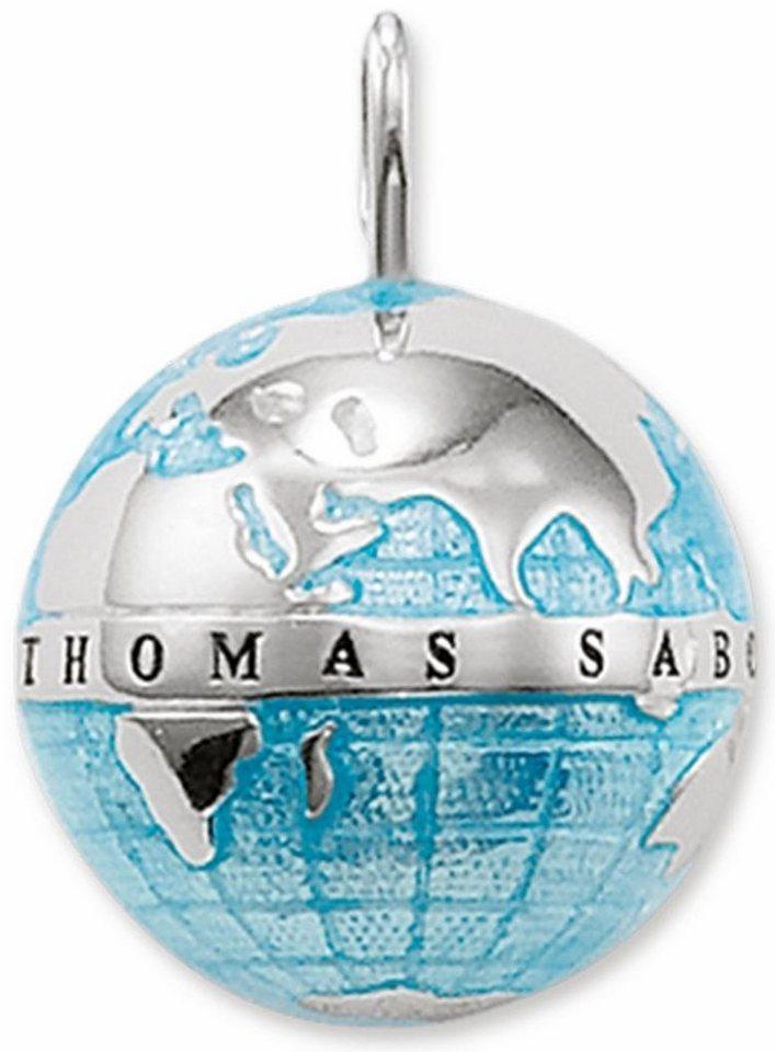 Thomas Sabo Kettenanhänger »PE452-007-1« in Silber 925-blau