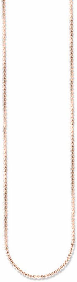 Thomas Sabo Silberkette »Kette, KE1106-415-12-L42v, L50v, L70, L80, L90« in roségoldfarben