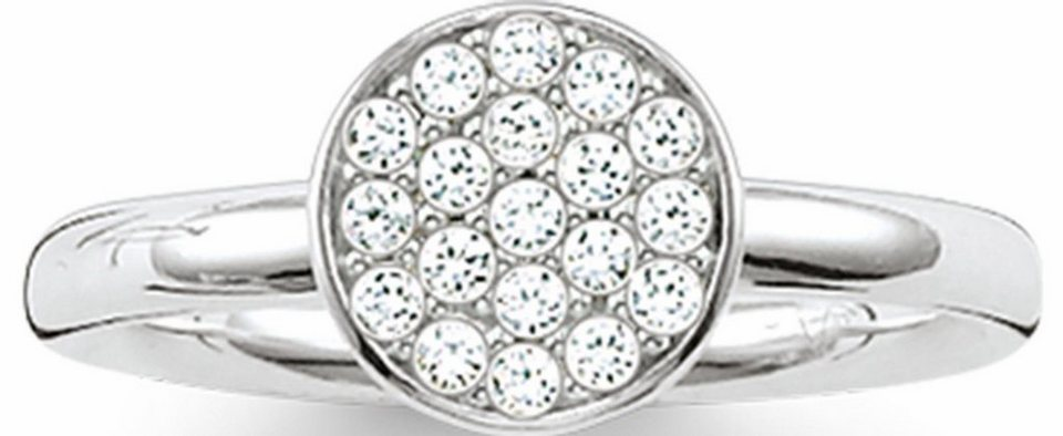 Thomas Sabo Silberring »Ring, TR2050-051-14-50, 54, 58, 60« mit Zirkonia in Silber 925