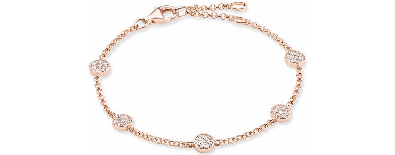 Thomas Sabo Silberarmband »Armband, A1330-416-14-L19,5v« mit Zirkonia