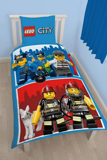 Character World Fanartikel »Lego City Heroes Bettwäsche«