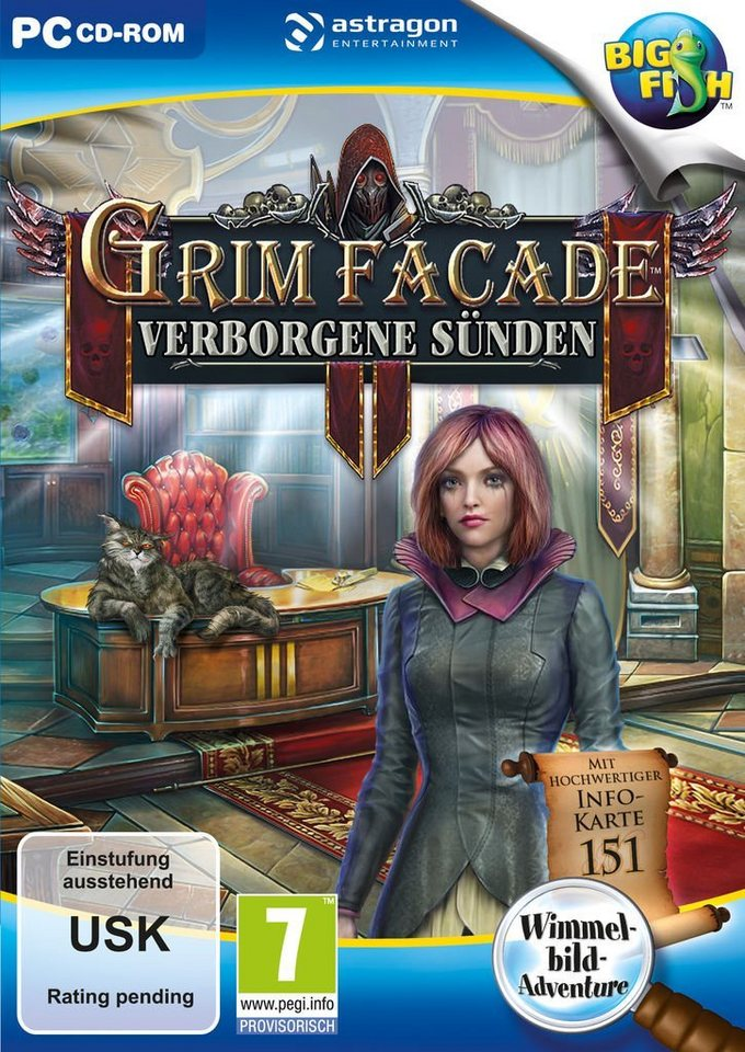 astragon PC - Spiel »Grim Façade: Verborgene Sünden «