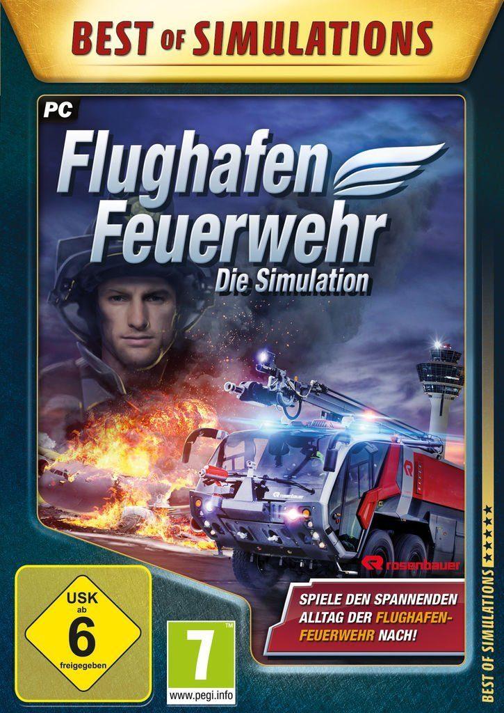 astragon PC - Spiel »Flughafen-Feuerwehr: Die Simulation«