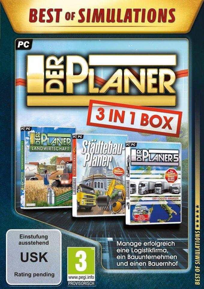 astragon PC - Spiel »Der Planer: 3 in 1 Box«