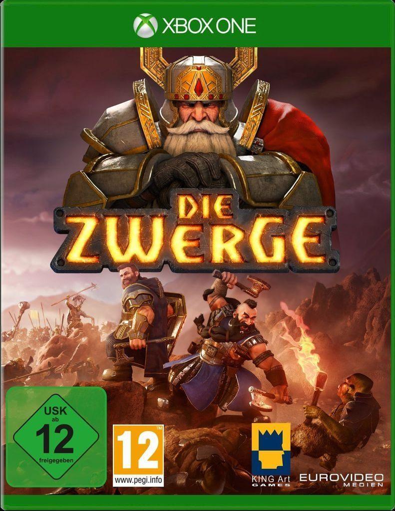 Nordic Games XBOX One - Spiel »Die Zwerge«