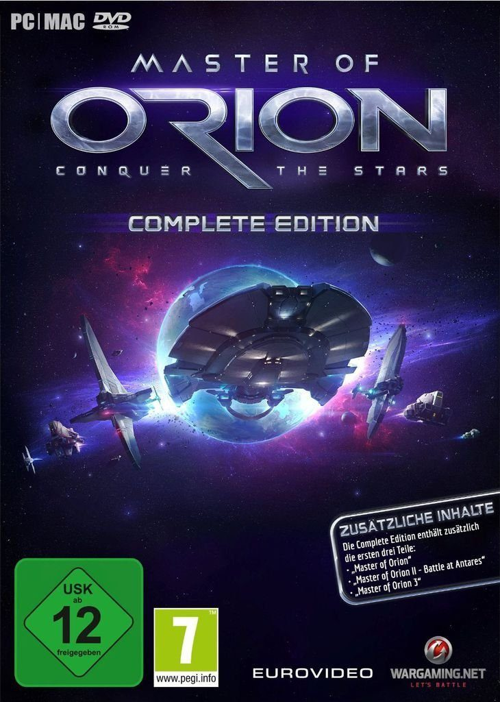 Nordic Games PC - Spiel »Master of Orion - Complete Edition«
