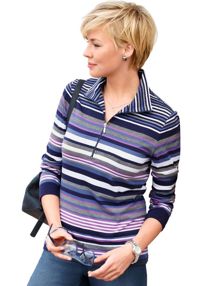 Damen Collection L. Poloshirt in Pure Wear Qualität blau | 05205012274530