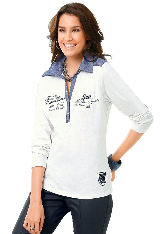 Alessa W. Shirt in hautsympathischer PURE WEAR-Qualität in weiß