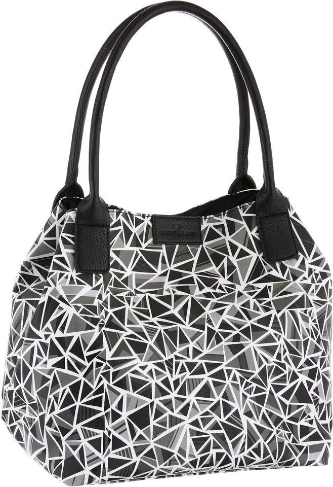 Tom Tailor Shopper »MIRI DIAMOND« in schwarz-weiß-grau