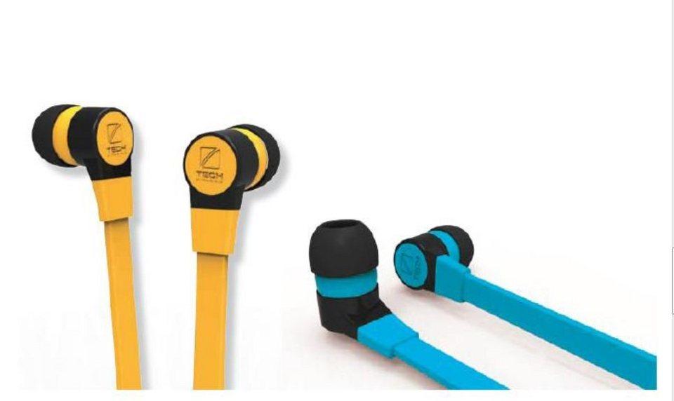 Travel Blue Ohrhörer mit Mikrofon und Lautstärkeregler (6 Stück)
