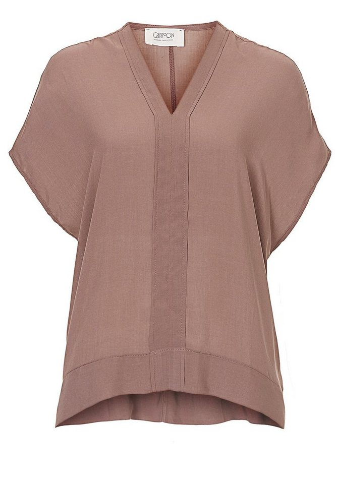 Cartoon Bluse in Ash Rose - Rot