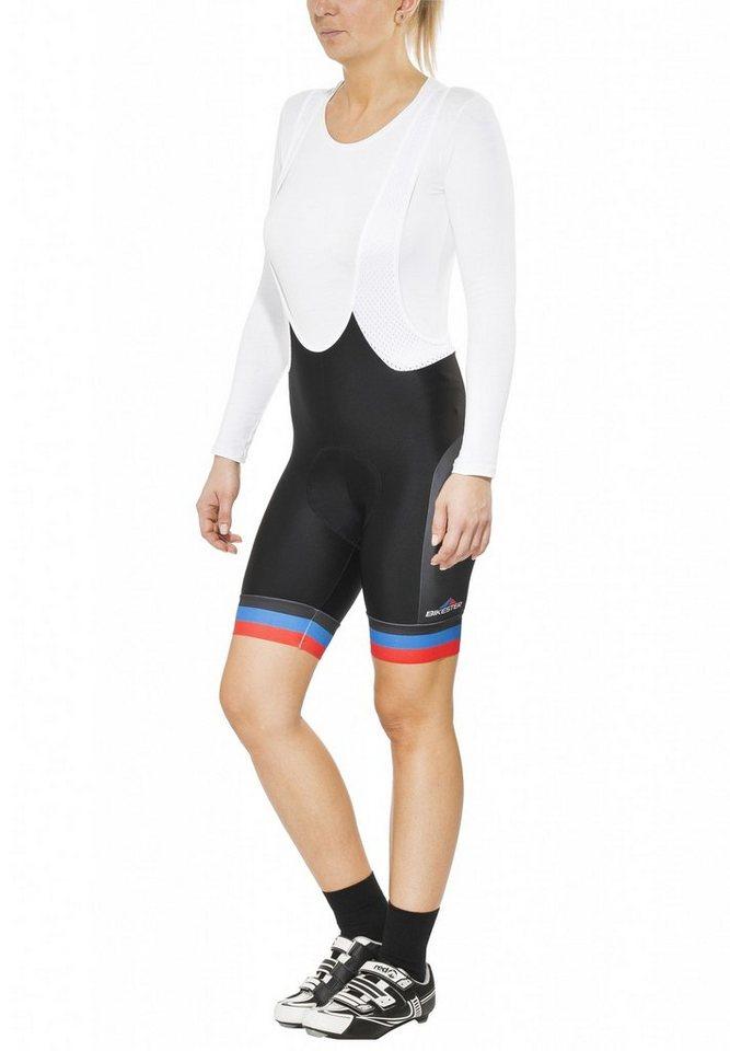 Bikester Radhose »Bioracer Classic Race Bib Short Women« in schwarz