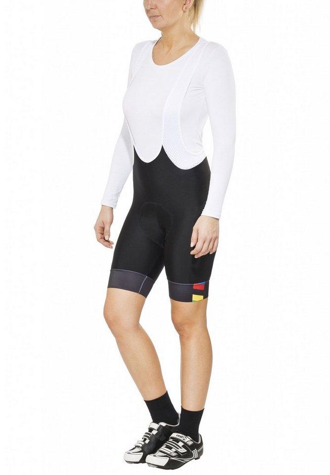 Brügelmann Radhose »Bioracer Pro Race Bib Short Women« in schwarz
