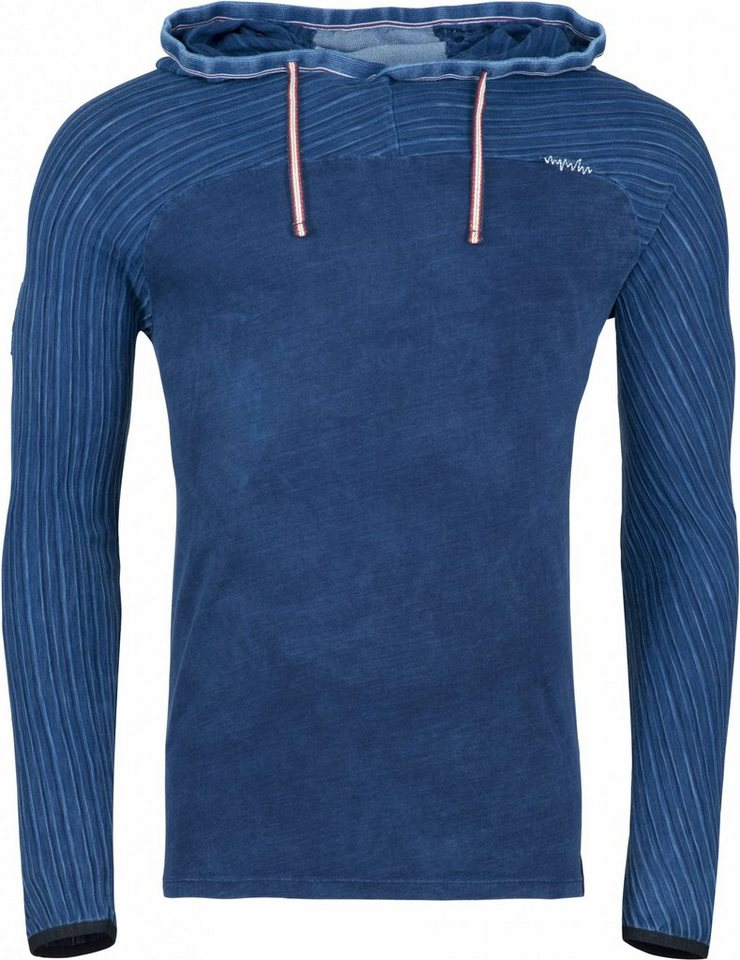 Chillaz Sweatshirt »Aspen Patch LS Men« in blau