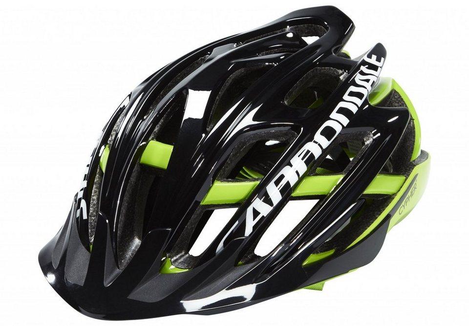 Cannondale Fahrradhelm »Cypher MTB Helmet Black/Green« in schwarz
