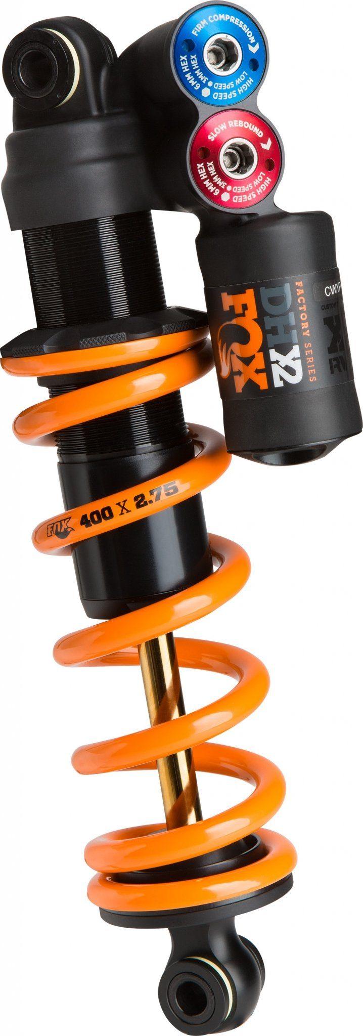 Fox Racing Shox Fahrrad Dämpfer »DHX2 Factory 241 x 76 mm«