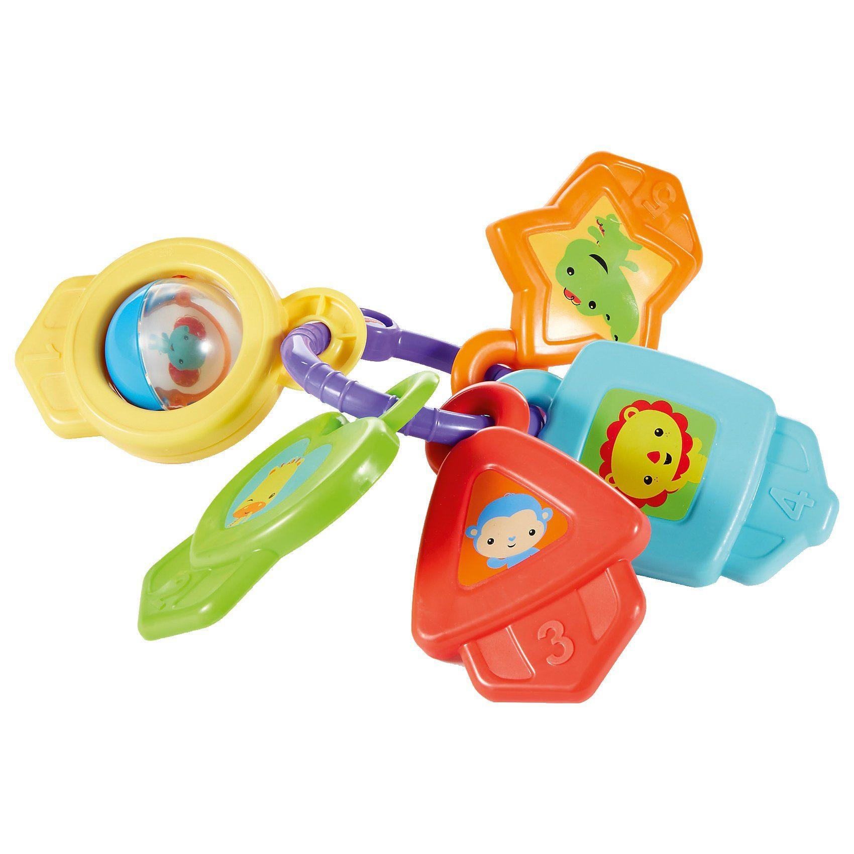 Mattel Fisher-Price Formen & Farben Schlüssel